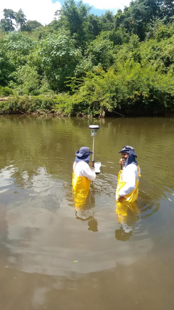 levantamento batimétrico para estudos hidrológicos