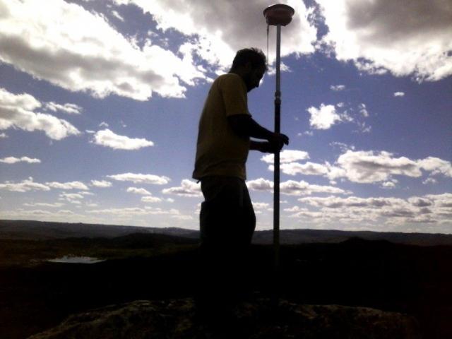 Levantamento planimétrico de propriedade rural