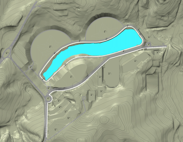 Projeto de terraplanagem